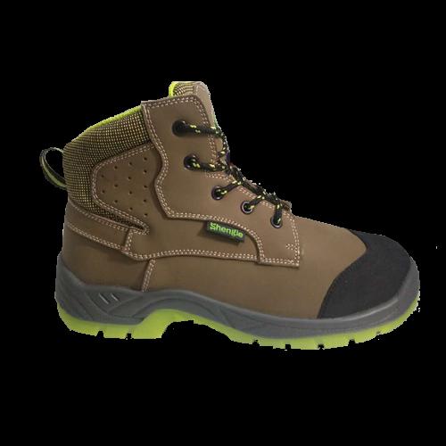 劳保鞋J-03棕色